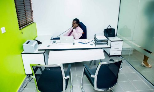 Serviced office for entrepreneur