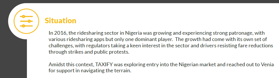Taxify came to Nigeria in 2016.