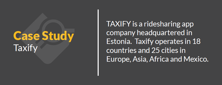 Case Study - Taxify